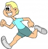 Runner cartoon